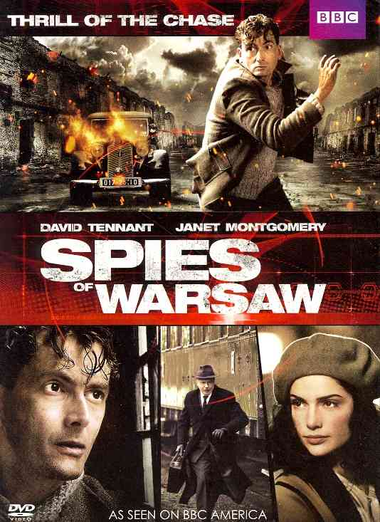 SPIES OF WARSAW BY TENNANT,DAVID (DVD)