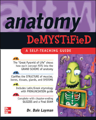 Anatomy Demystified By Layman, Dale Pierre